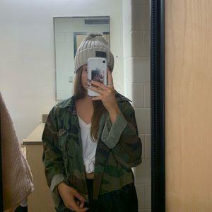 Jackets & Blazers - cropped military jacket